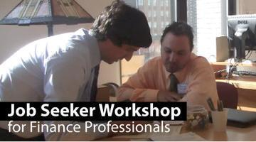 Job Seeker Workshop - Wall Street Services